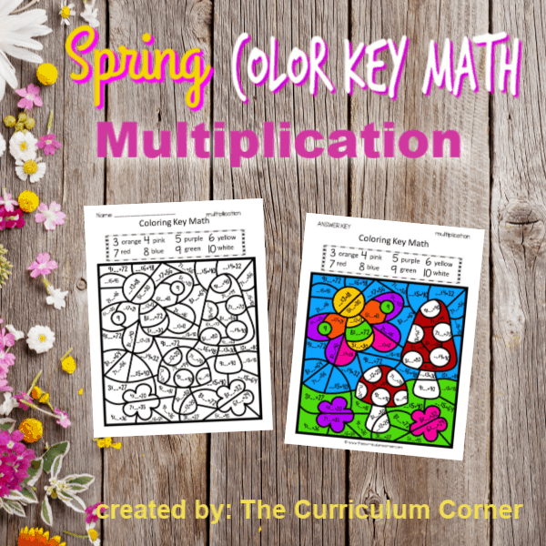 Spring Color Key Multiplication