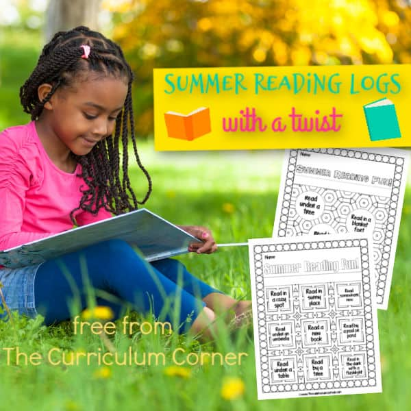 A Twist on Summer Reading Logs