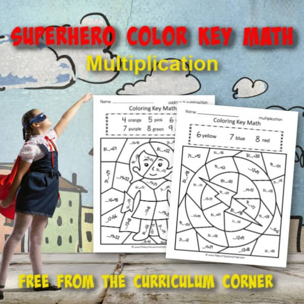 Superhero Color Key Multiplication