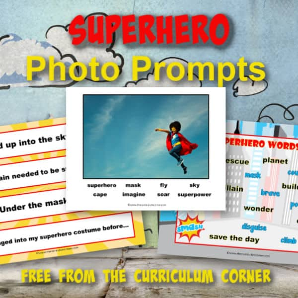 Superhero Photo Prompts