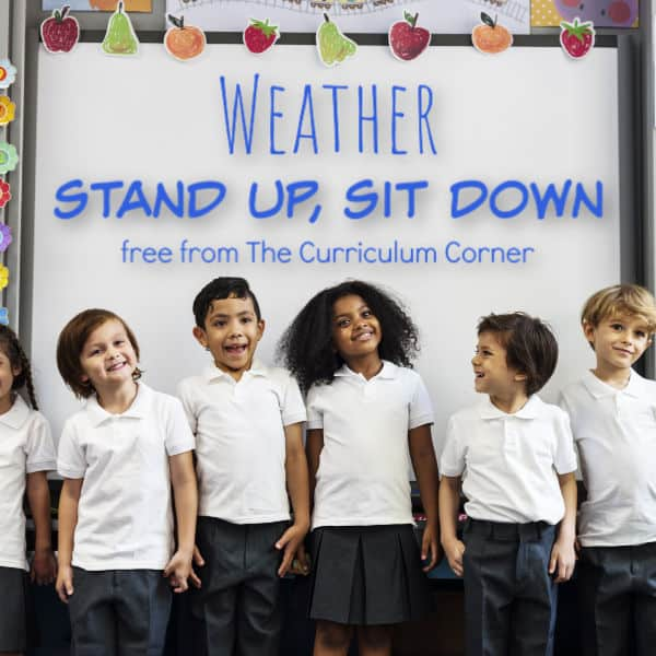 Stand Up. Sit Down: Weather