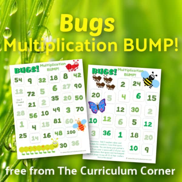 Bugs Multiplication BUMP Games