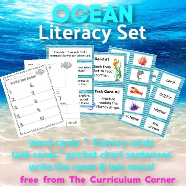 Ocean Literacy Set