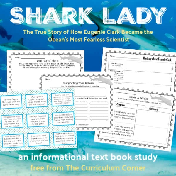 Book Study: Shark Lady