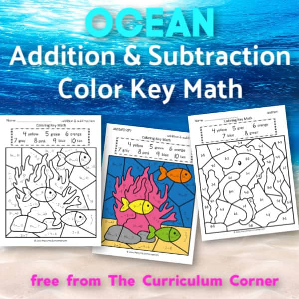 Ocean Addition Color Key