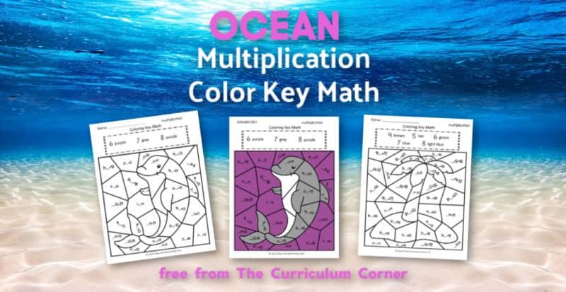 Ocean Multiplication Color Key