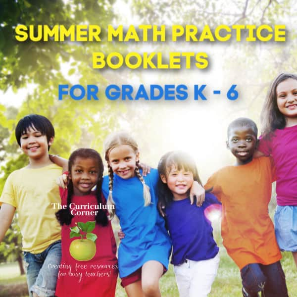 K-6 Summer Math Booklets