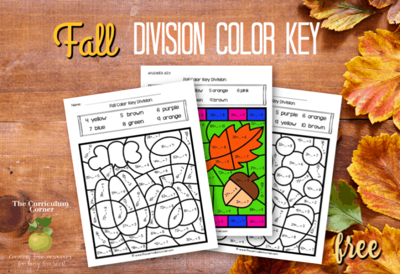 fall color key division