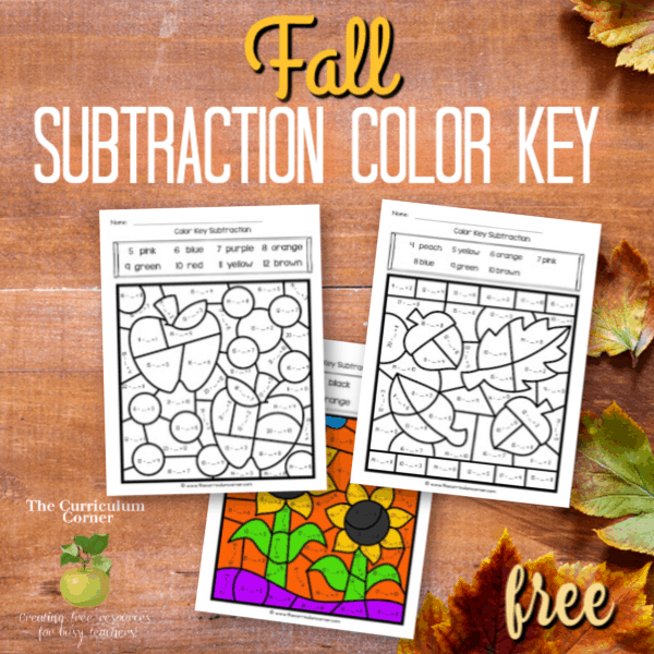 Fall Color Key Subtraction