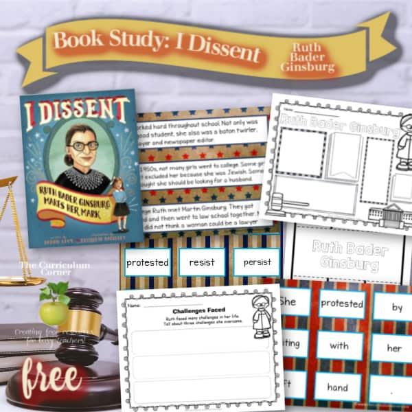 Book Study: Ruth Bader Ginsburg