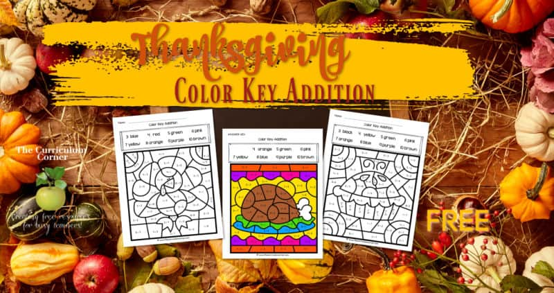 Thanksgiving Color Key Addition