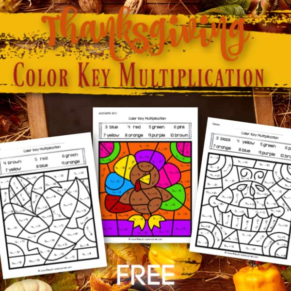Thanksgiving Color Key Multiplication