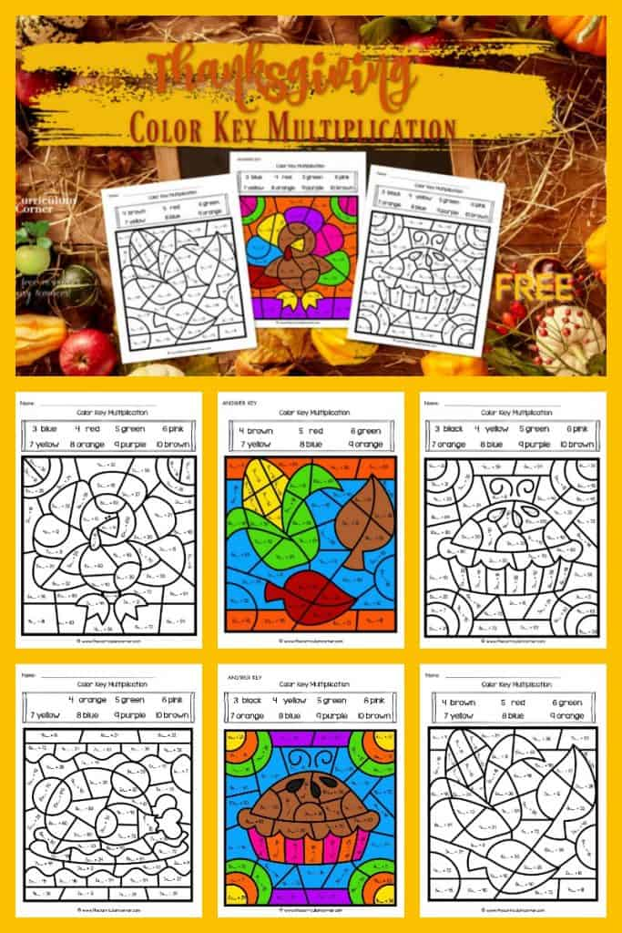 Thanksgiving Color Key Multiplication