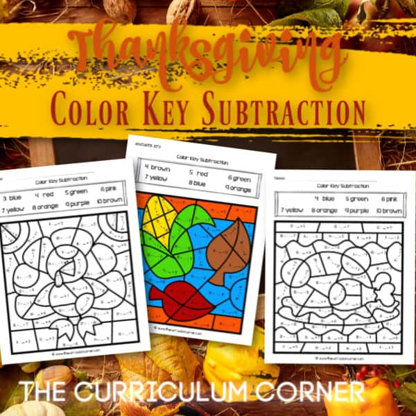 Thanksgiving Color Key Subtraction