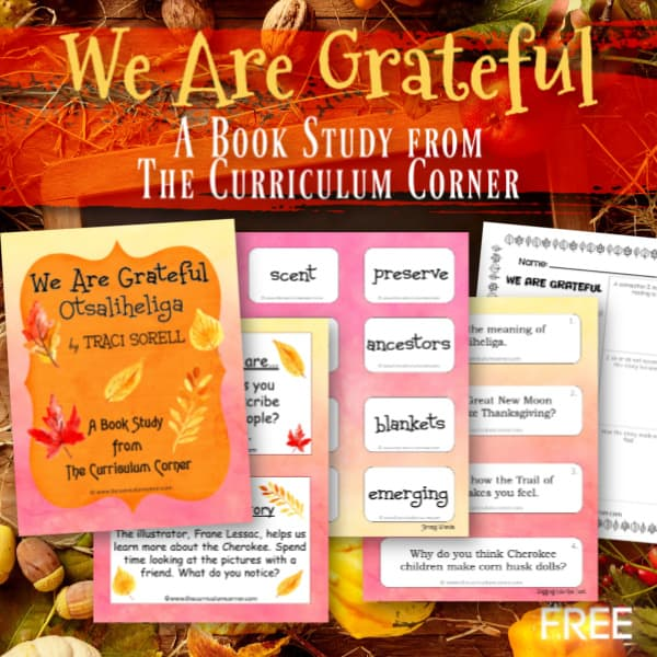 Book Study: We Are Grateful