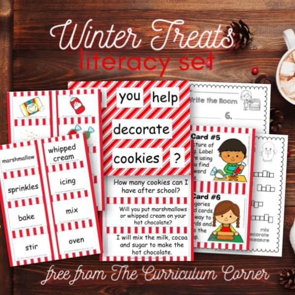 Winter Treats Literacy Set