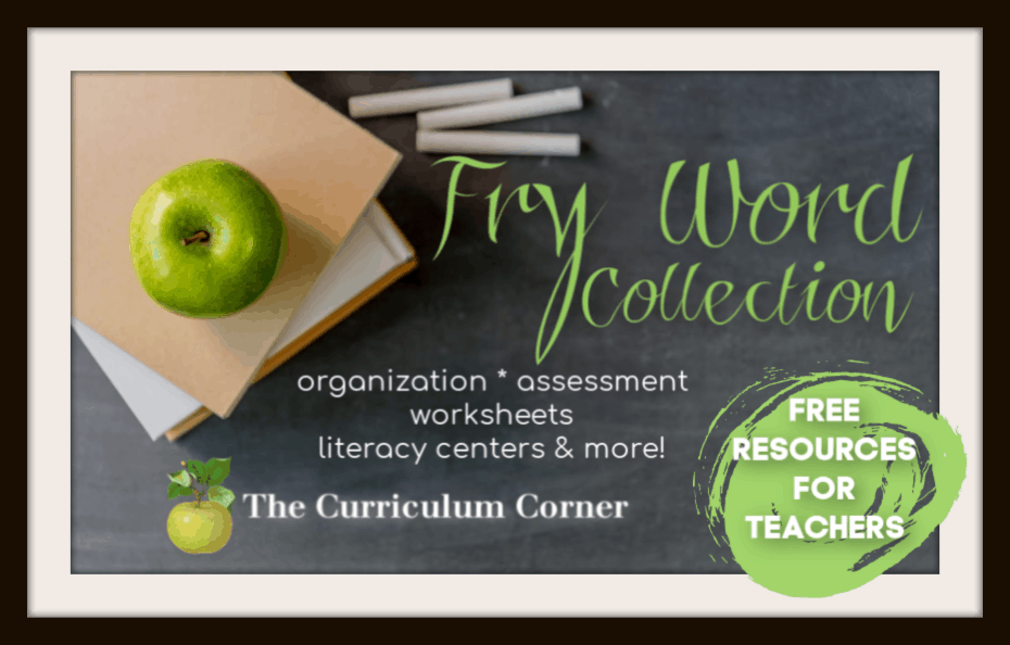Fry Word Resources