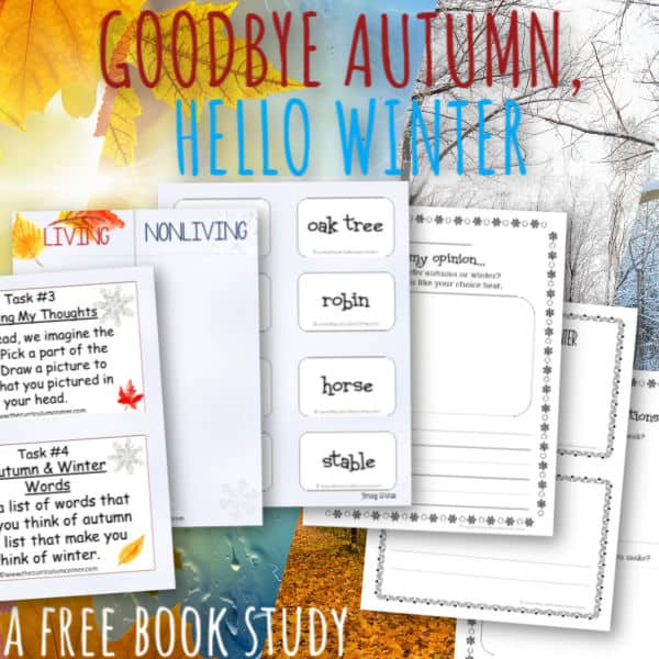 Book Study: Goodbye Autumn, Hello Winter
