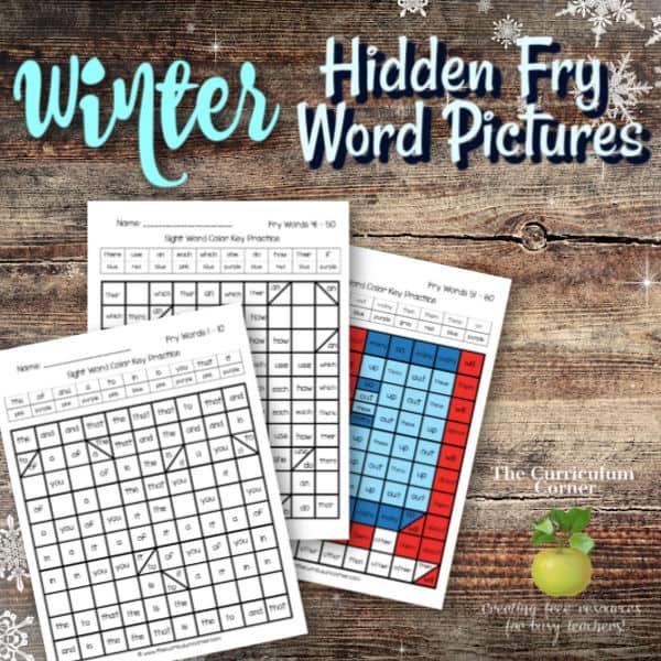 Winter Fry Hidden Pictures
