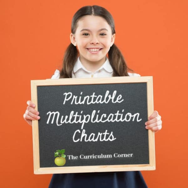 Multiplication Chart Collection