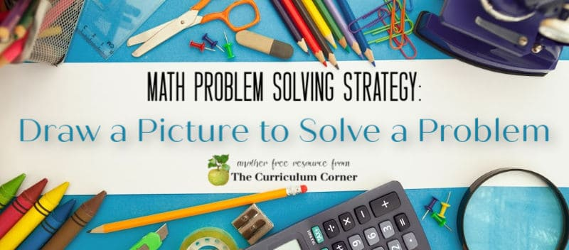 Draw a picture to solve a problem