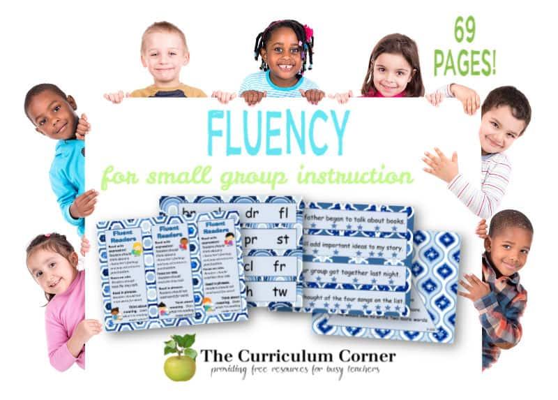 reading fluency activities