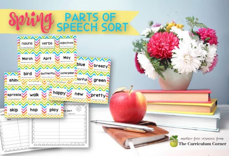 spring parts of speech