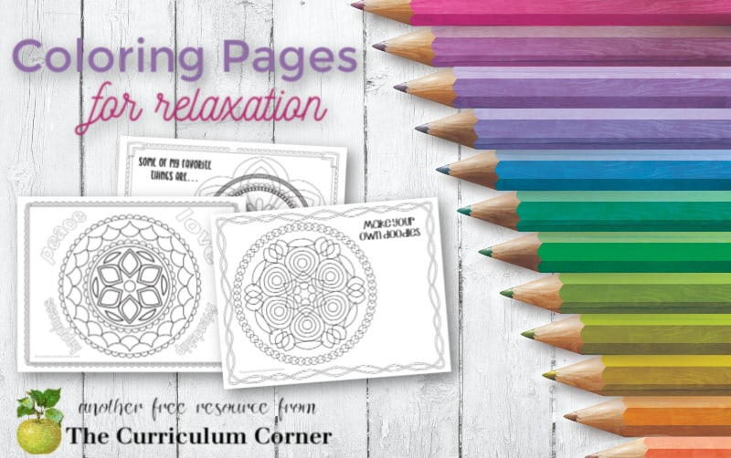 coloring pages for relaxation