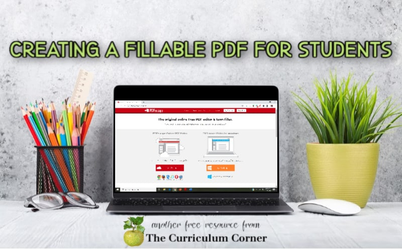 writing on a PDF