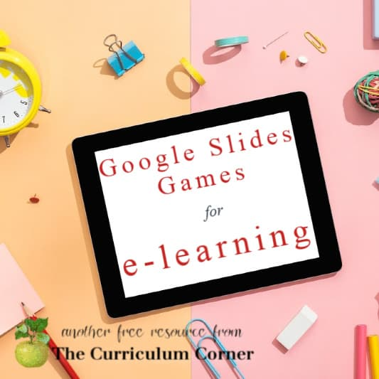 Google Slides Games for e-learning