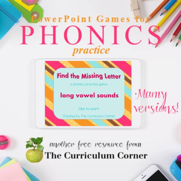 Phonics Games for PowerPoint