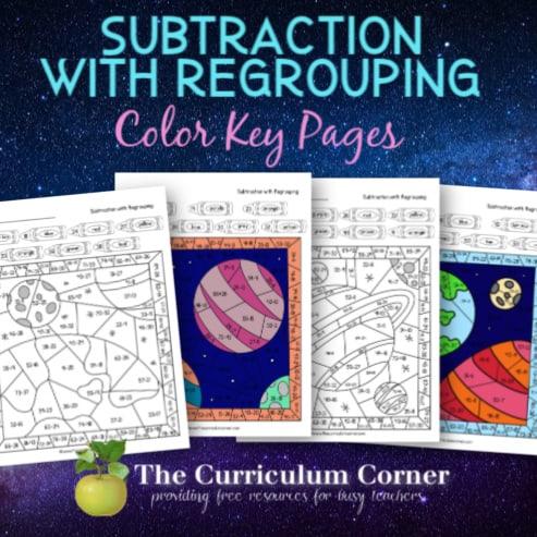Space Subtraction Color Key