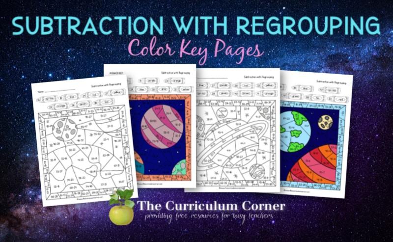 space color key subtraction