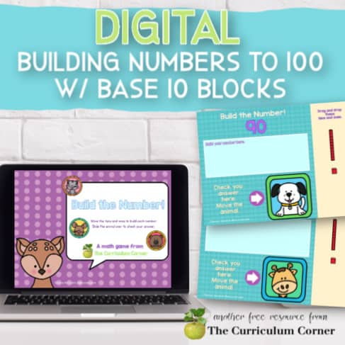 Digital: Base 10 Blocks, Building to 100