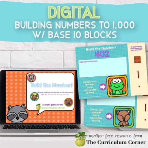 Digital: Base 10 Blocks, Building to 1,000