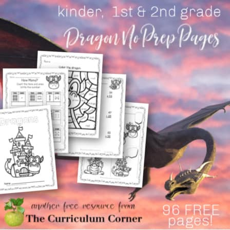 Dragon No Prep Pages
