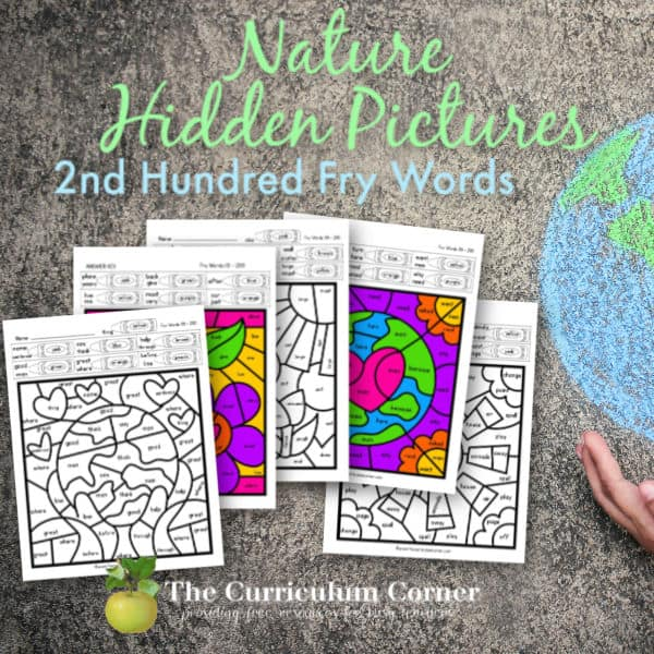 Earth Day Fry Hidden Pictures