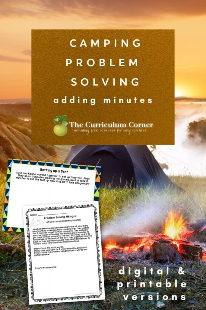 free camping problem solving with adding minutes