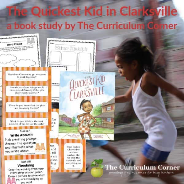 Book Study: The Quickest Kid in Clarksville