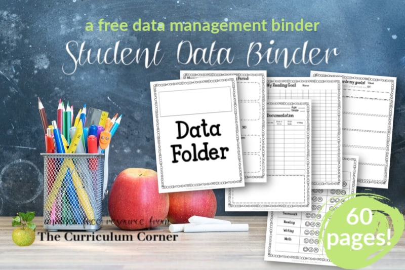 This fully editable student data binder will help you with progress monitoring and data tracking in your classroom.