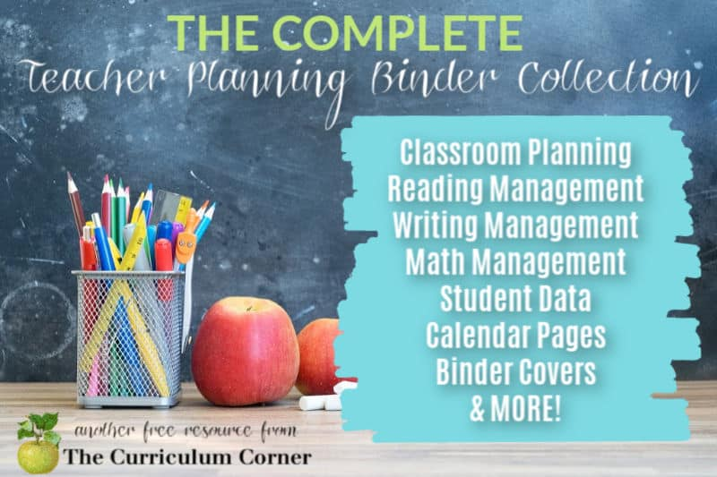 Our complete, free collection of editable teacher binders will help you organize and plan for the upcoming school year.