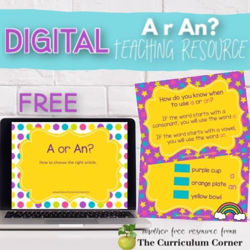 Digital: Using A or An?
