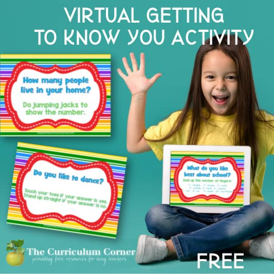 Virtual Getting to Know You Activity