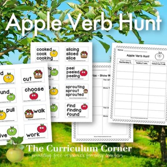 Apple Picking Verb Hunt