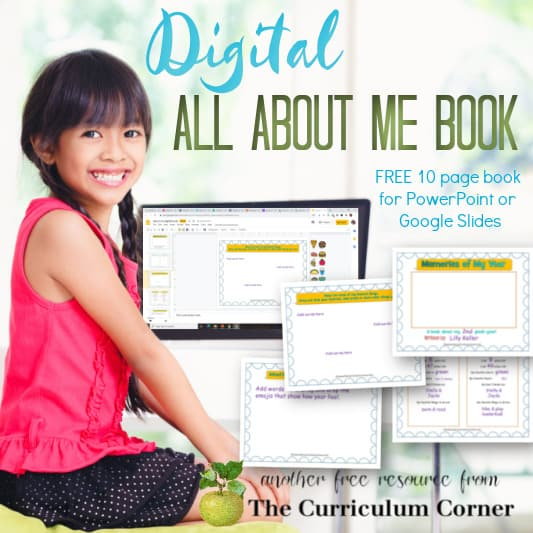 Digital All About Me Book