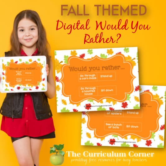 Fall Digital Would You Rather