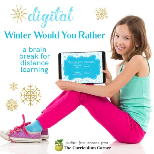 Winter Digital Would You Rather