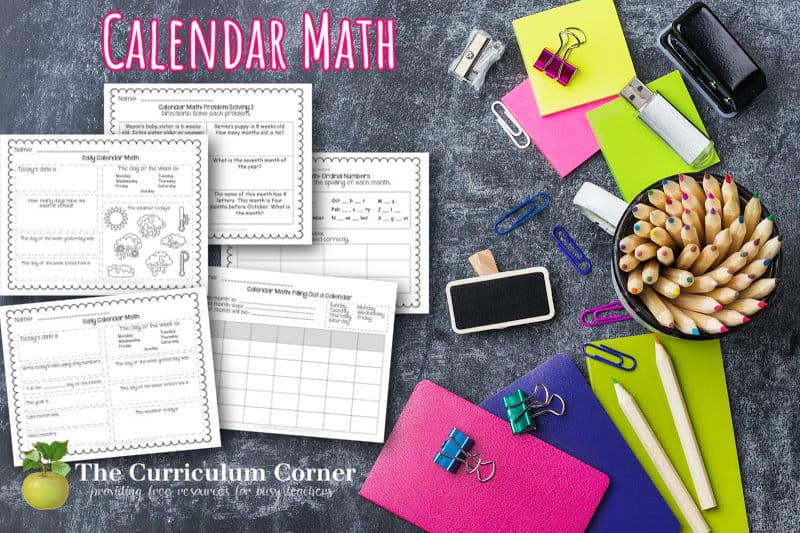 This collection of calendar math worksheets and activities is designed to give your students practice reading, creating and interpreting calendars.