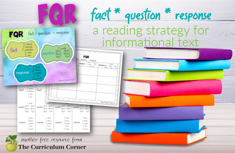 fact, question, response reading strategy