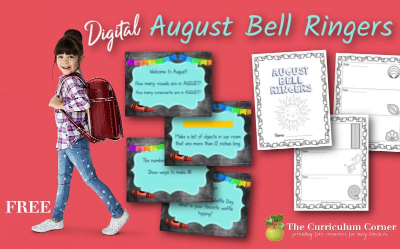 Free Digital August Bell Ringers
